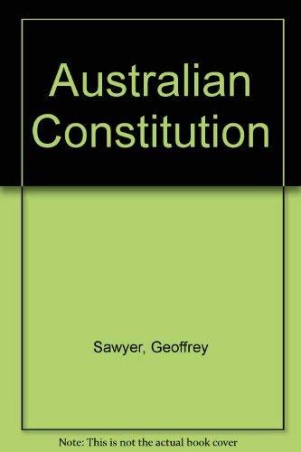 9780644071505: Australian Constitution