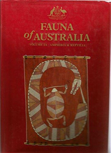 9780644324298: Fauna of Australia: Amphibia & Reptilia: 2A