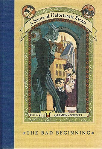 9780644407663: The Reptile Room, The Bad Beginning (2 Books of A Series of Unfortunate Events, Book the first and Book the second)
