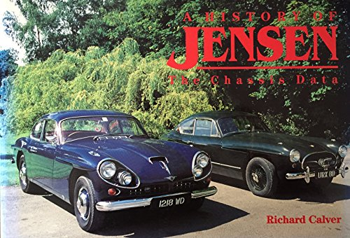 9780646035635: A history of Jensen, the chassis data