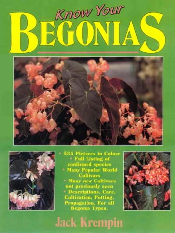 9780646142517: Know Your Begonias