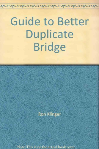 9780646224343: Guide to Better Duplicate Bridge