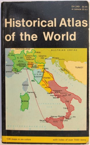 9780646324906: Historical Atlas of the World (Barnes & Noble Everyday Handbooks)
