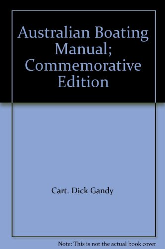 9780646378794: Australian Boating Manual; Commemorative Edition