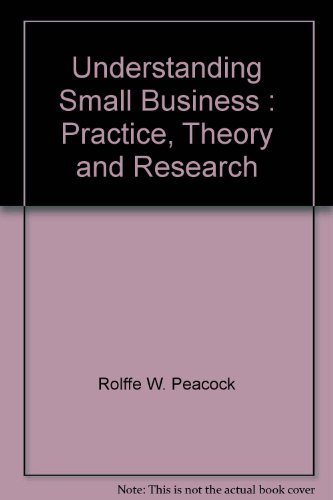 9780646429113: Understanding Small Business : Practice, Theory and Research