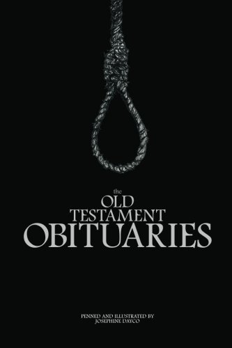 9780646584850: The Old Testament Obituaries
