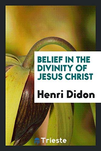 9780649009268: Belief in the divinity of Jesus Christ