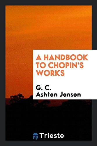 9780649041206: A Handbook to Chopin's Works