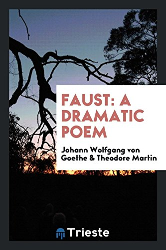 9780649116782: Faust: A Dramatic Poem