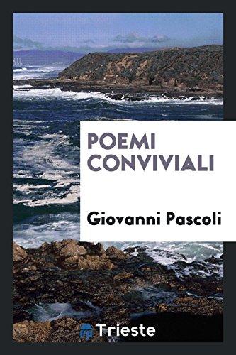 9780649136933: Poemi conviviali
