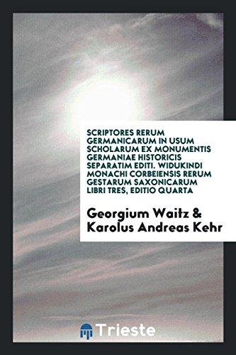 Scriptores rerum Germanicarum in usum scholarum ex: Georgium Waitz; Karolus