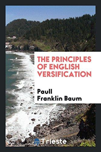 9780649141319: The Principles of English Versification