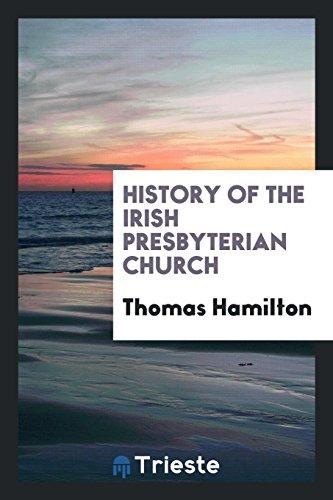 9780649145577: History of the Irish Presbyterian Church