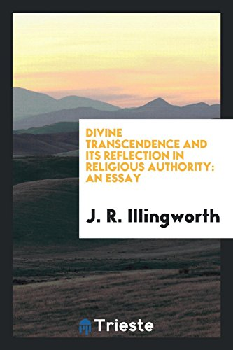9780649243198: Divine transcendence and its reflection in religious authority: an essay