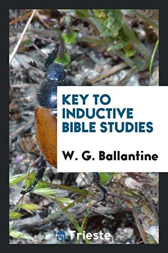 9780649308743: Key to Inductive Bible Studies