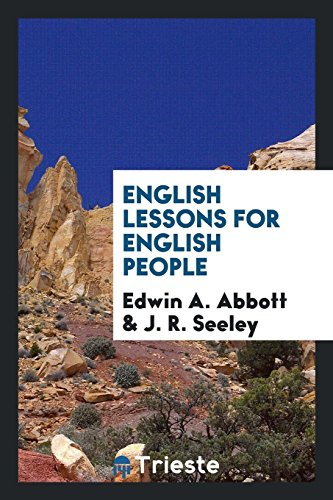 9780649574582: English Lessons for English People