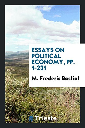 9780649576944: Essays on Political Economy, pp. 1-231