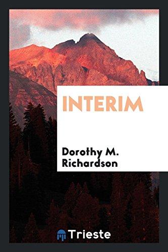 Interim: Richardson, Dorothy M.
