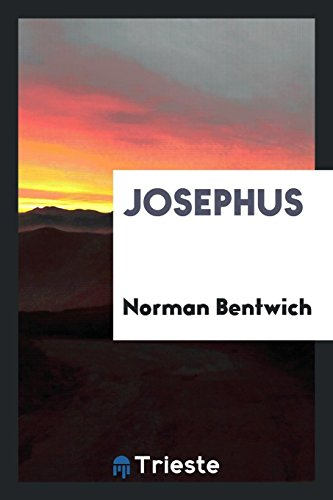 Josephus: Norman Bentwich