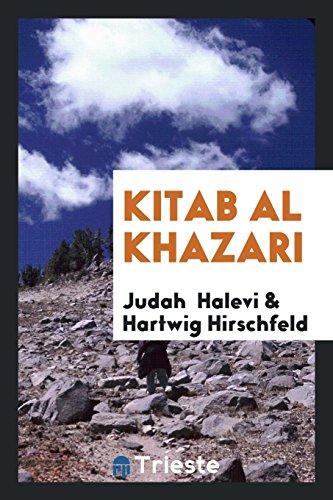 Kitab al Khazari: Halevi, Judah