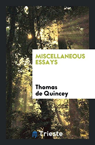 9780649649716: Miscellaneous Essays
