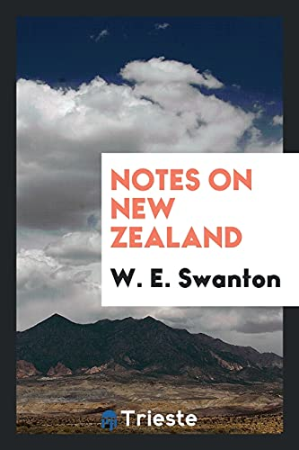 9780649659067: Notes on New Zealand