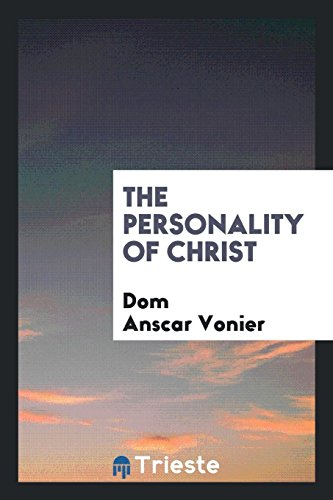 9780649669417: The Personality of Christ