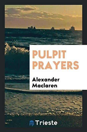 9780649684663: Pulpit Prayers