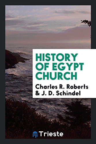 History of Egypt Church (Paperback): Charles R Roberts