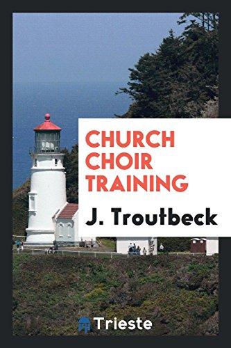 9780649744244: Church choir training
