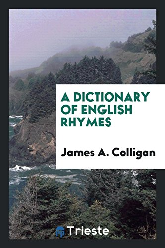 9780649763092: A Dictionary of English Rhymes
