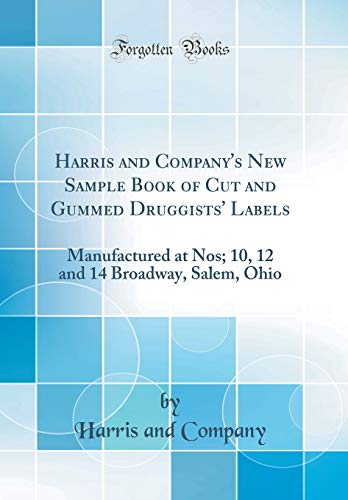 Harris and Company s New Sample Book: Harris and Company