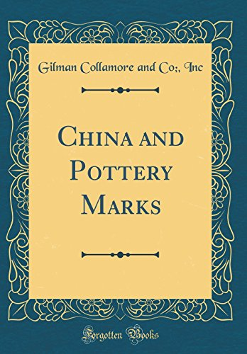 9780656228997: China and Pottery Marks (Classic Reprint)