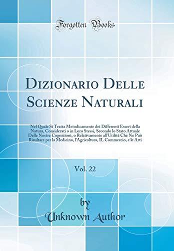 Dizionario Delle Scienze Naturali, Vol. 22: Nel: Unknown Author
