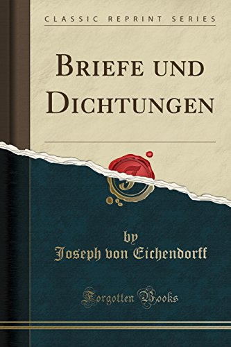 9780656934973: Briefe und Dichtungen (Classic Reprint)