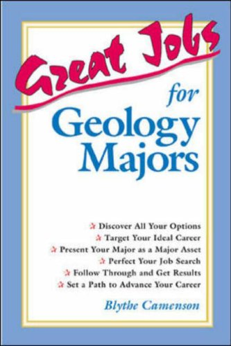 9780658000218: Great Jobs for Geology Majors (Great Jobs for ... Majors)