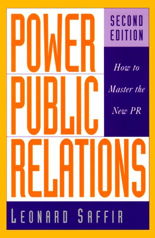 9780658000607: Power Public Relations: How to Master the New PR