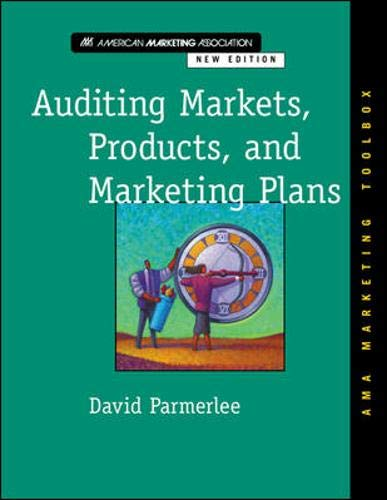 9780658001338: Auditing Markets, Products, and Marketing Plans