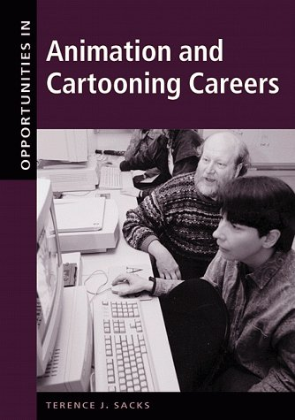9780658001833: Opportunities in Animation and Cartooning Careers