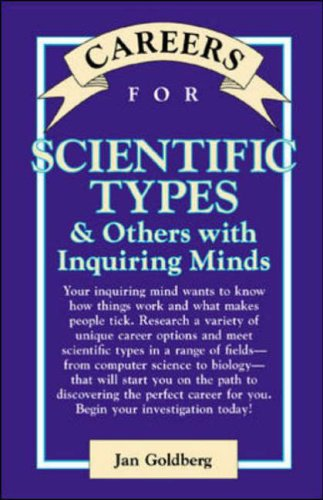 9780658002137: Scientific Types & Others with Enquiring Minds (VGM Careers for You)