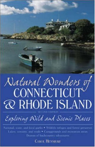 9780658002403: Natural Wonders of Connecticut & Rhode Island : Exploring Wild and Scenic Places