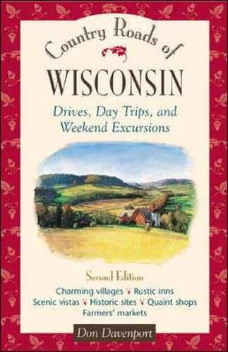 9780658002434: Country Roads of Wisconsin : Drives, Day Trips, and Weekend Excursions