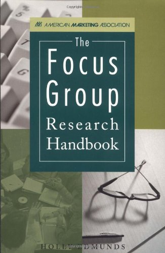 9780658002489: Focus Group Research Handbook