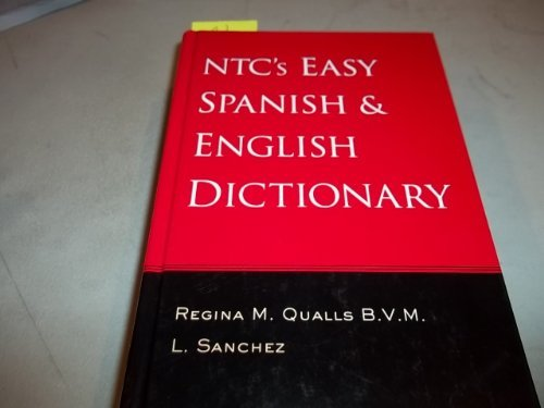 9780658003325: Ntc's Easy Spanish & English Dictionary