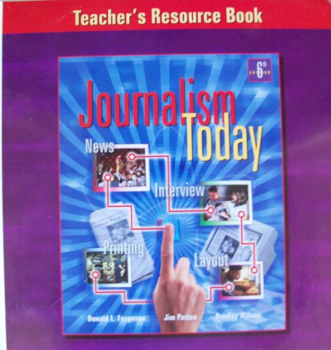 9780658004001: Journalism Today: Teachers Resource Book 6th Edition