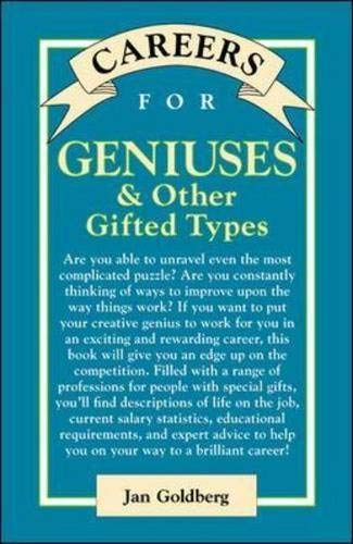 9780658004650: Careers for Geniuses and Other Gifted Types