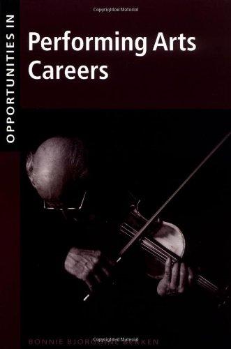 9780658004711: Opportunities in Performing Arts Careers