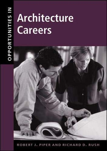 9780658004759: Opportunities in Architecture Careers