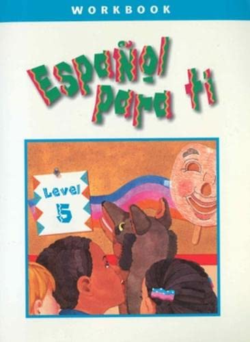 9780658007156: Espanol Para Ti: Level 5 Workbook