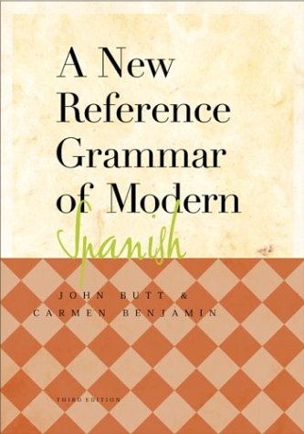 9780658008733: A New Reference Grammar of modern Spanish 3rd Edition